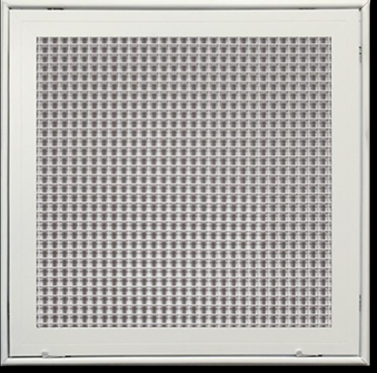 Lattice Hvac Grille : Soft white lattice filter grille aluminum