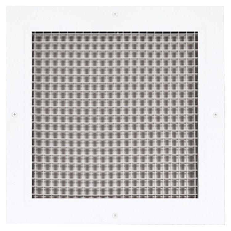 Lattice Hvac Grille : Soft white lattice return air grille aluminum