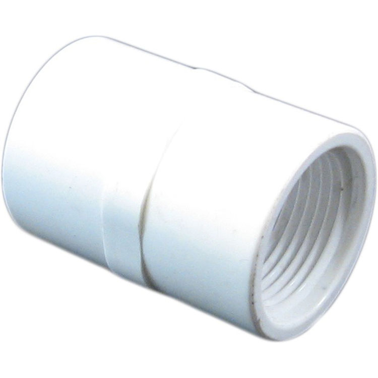 Pvcfe schedule pvc female adapter inch