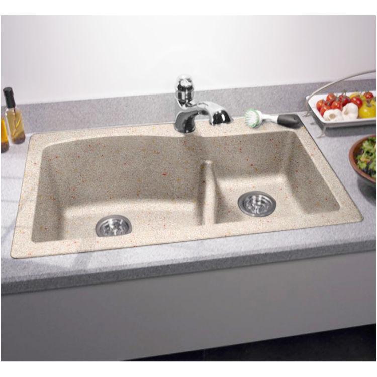 Swanstone Qzls 3322 076 Granito 33 X22 Undermount Kitchen