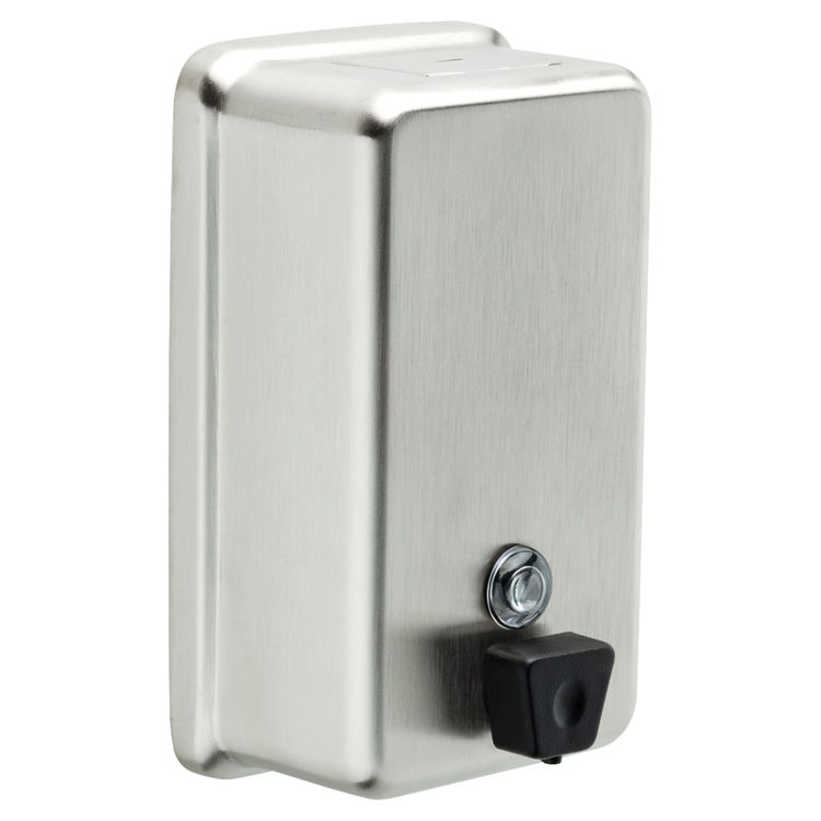 Delta 44080 Ss Commercial Vertical Mounted Liquid Soap Dispenser Stainless Steel