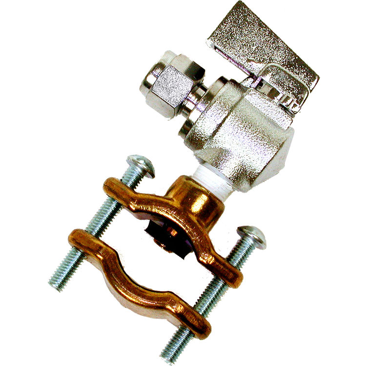 Dial 9446 1 4 Quot Stainless Steel Ball Valve Amp Brass Saddle