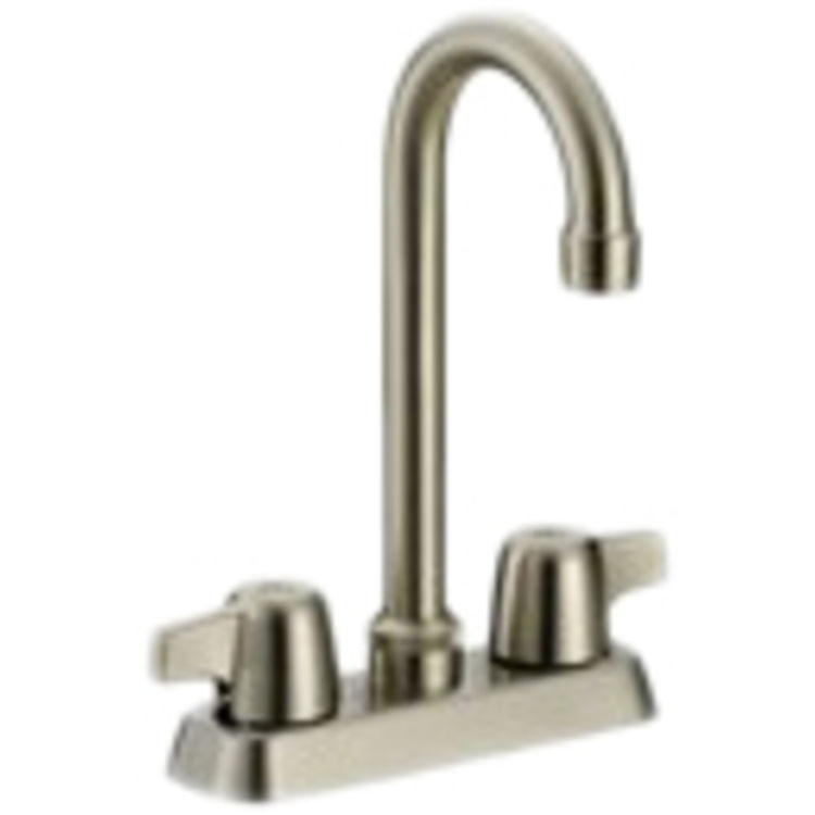 Matco CL-320SS Classic Two-Handle Bar Faucet (Stainless Steel)