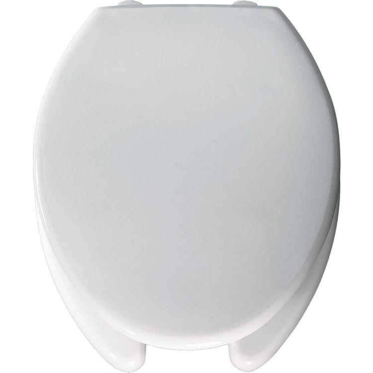 Bemis 3l2150t 000 White Open Front Elongated Toilet Seat