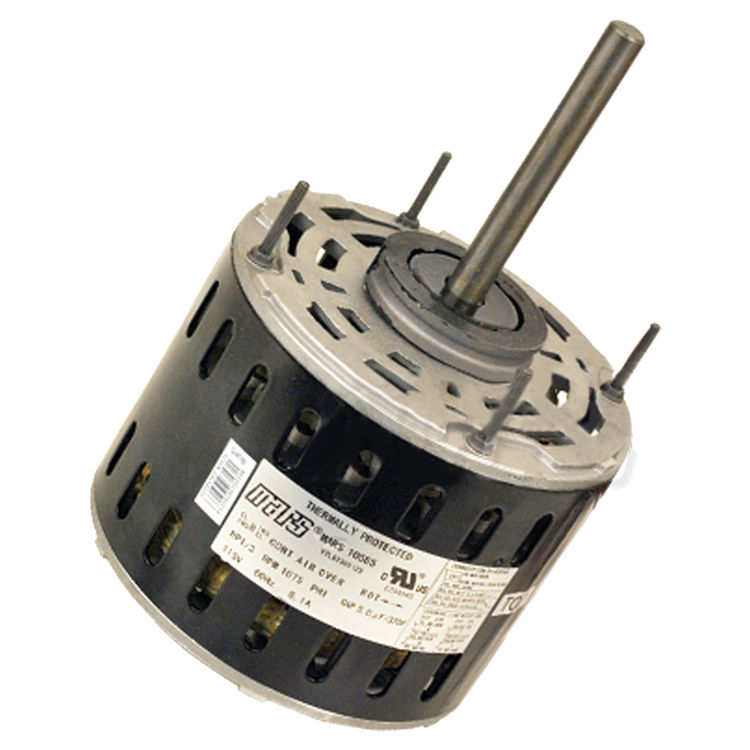 Mars 10586 blower motor 1 3 hp 230v direct drive 1 2 for Add electric motor to drive shaft