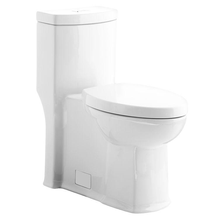 American Standard 2891 200 020 White Boulevard Dual Flush