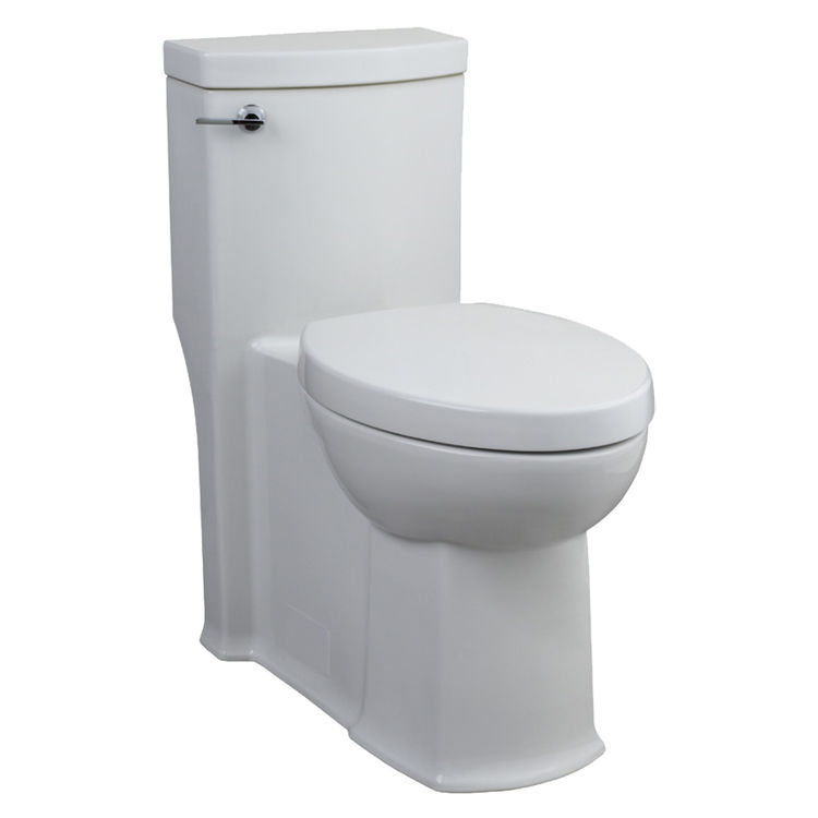elongated bowl toilet dimensions. American Standard 2891 128 020 White Boulevard One Piece Elongated Bowl  Toilet