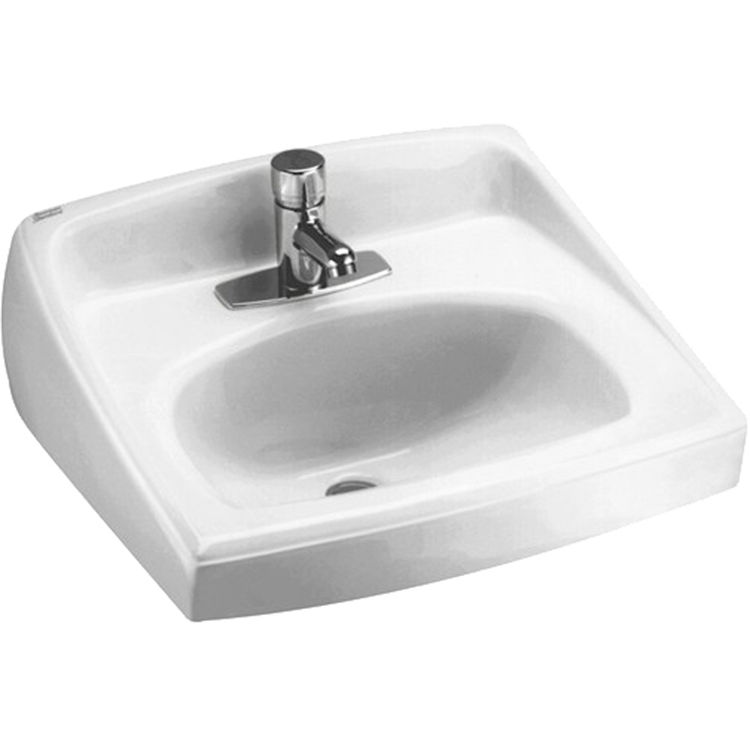 American Standard 0356 041 020 Lucerne Wall Mount Sink White