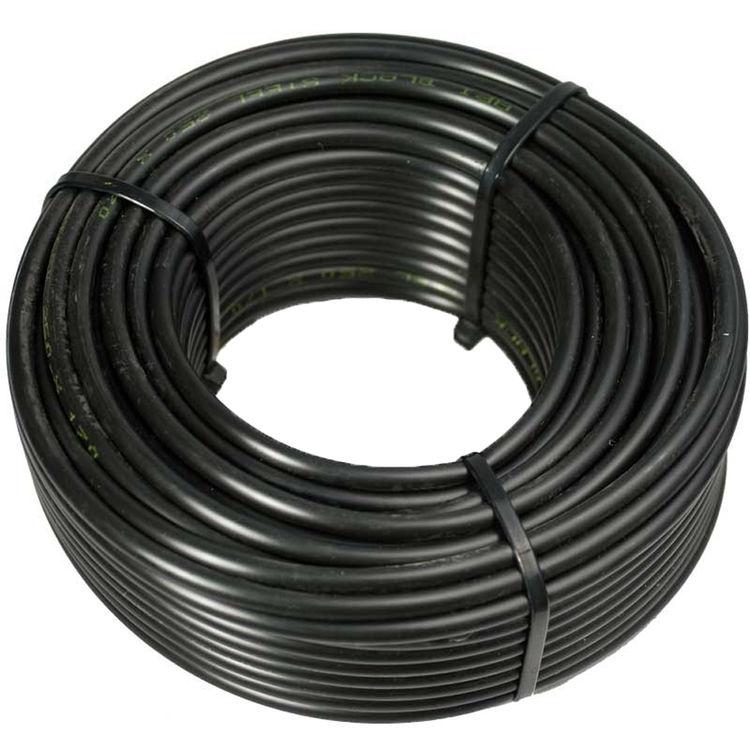 Inch polyethylene tubing foot roll black color