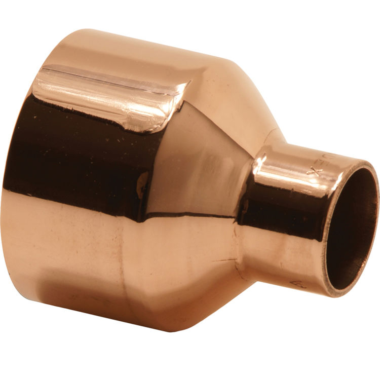 Quot copper bell reducer socket