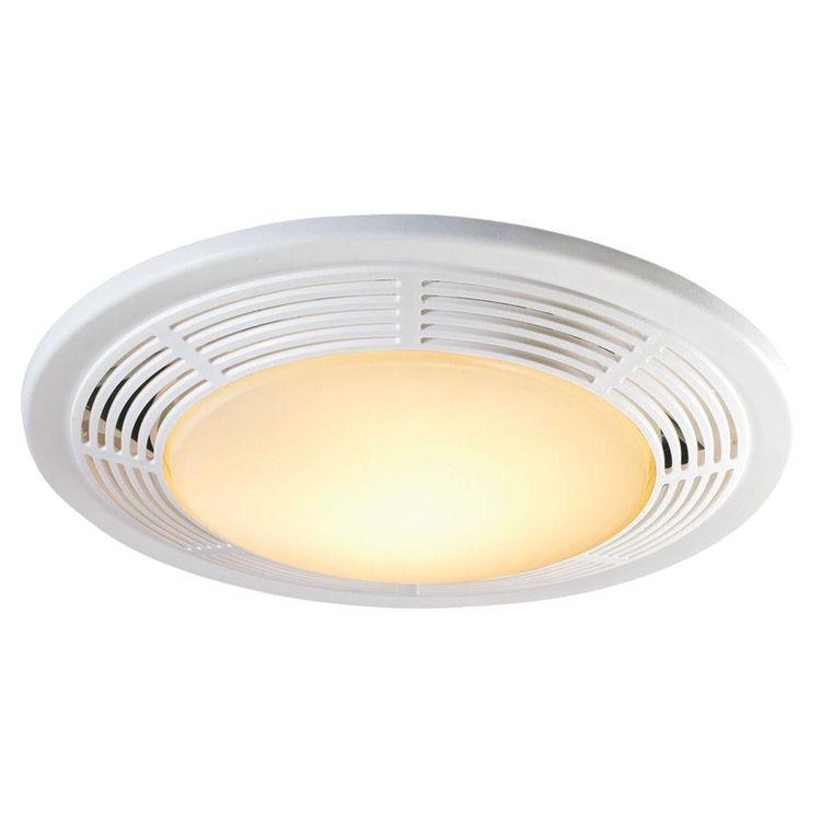 Broan Nutone 8663rp 100 Cfm Fan Light 100 Watt Incandescent Light