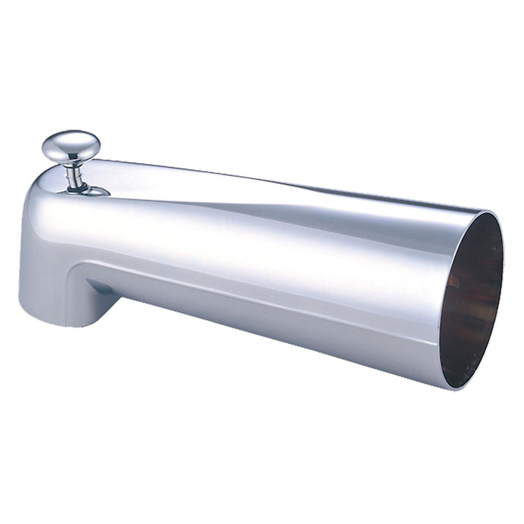 Pioneer x 6400026 extended diverter tub spout in a classic for Waterworks copper tub