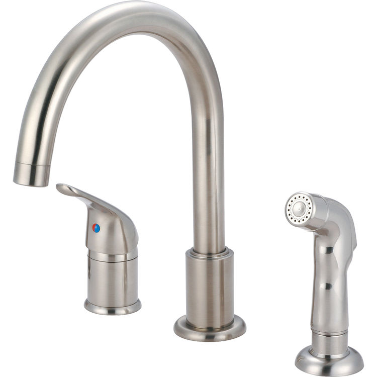 pioneer 2pm331 bn single handle kitchen faucet in a