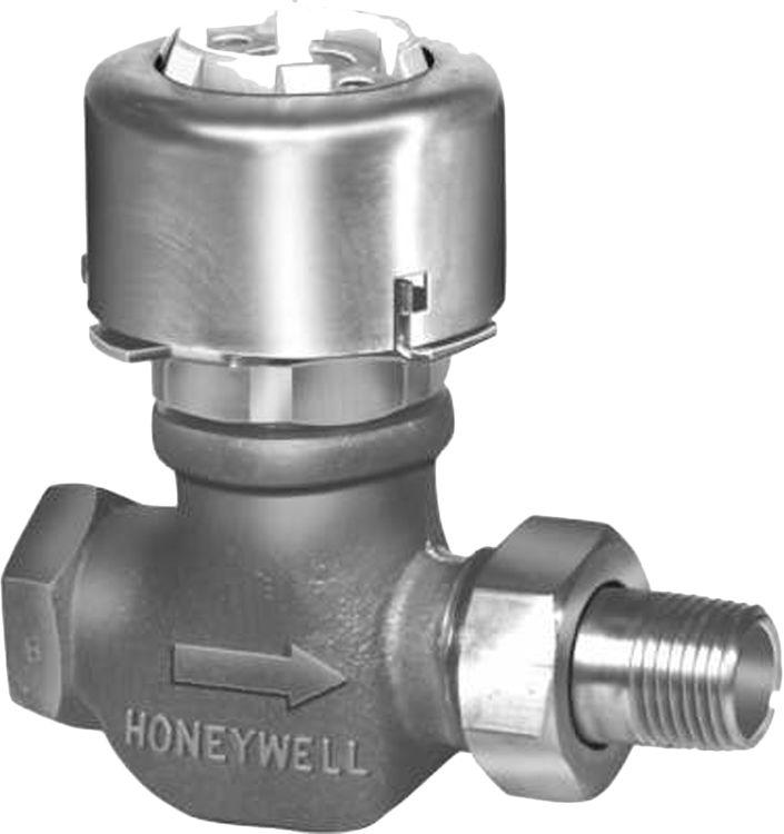 honeywell vp525c1016 u two way unitary water valve plumbersstock. Black Bedroom Furniture Sets. Home Design Ideas