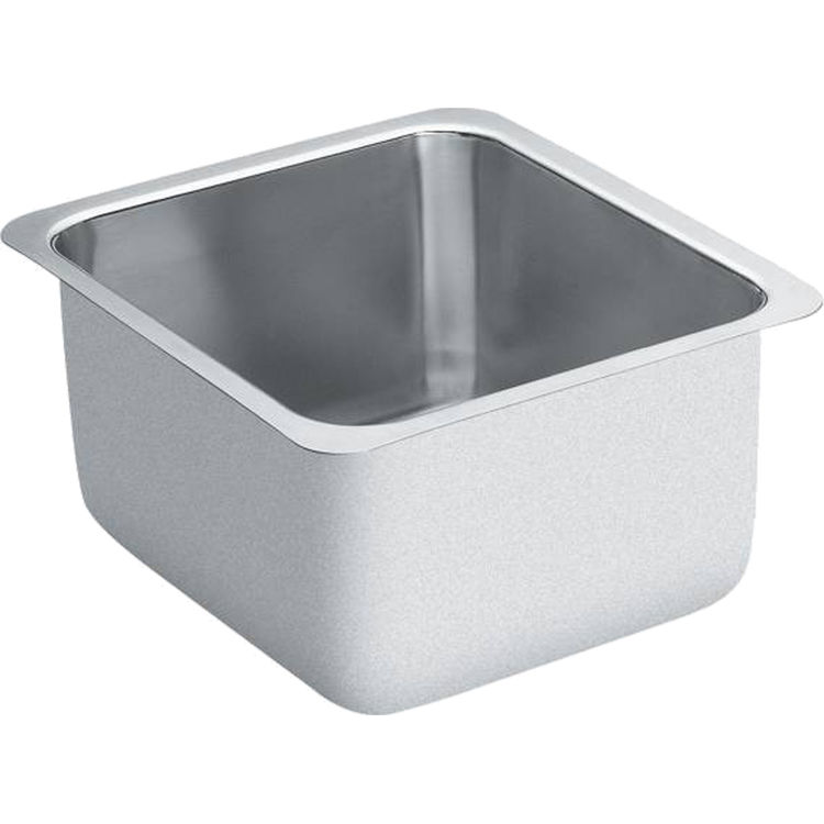 Moen G18442 1800 Series Stainless Steel 18 Gauge Single Bowl Sink