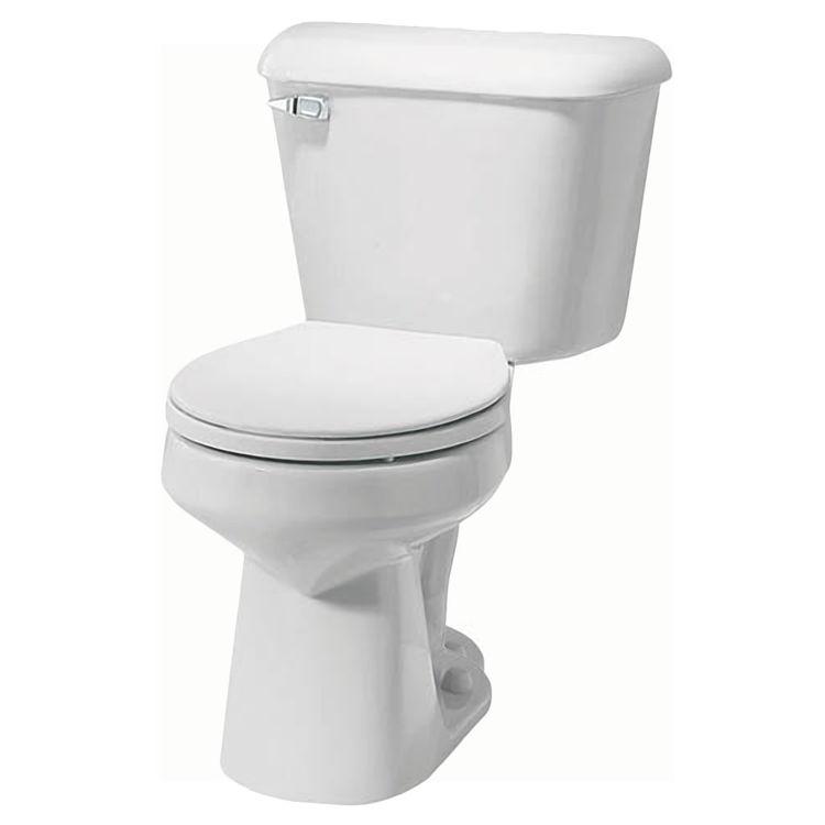 mansfield alto white 2 flapper toilet tank toilet tank only model