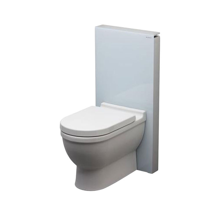 Geberit glass monolith system for floor for Geberit toilet system