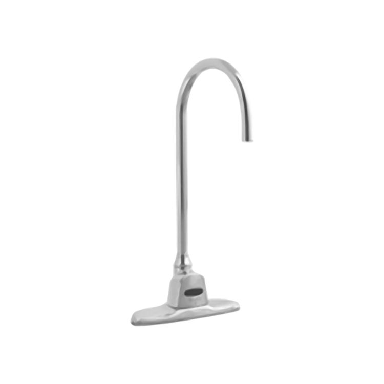 Delta 1500ts128 Commercial Chrome Electronic Gooseneck Faucet