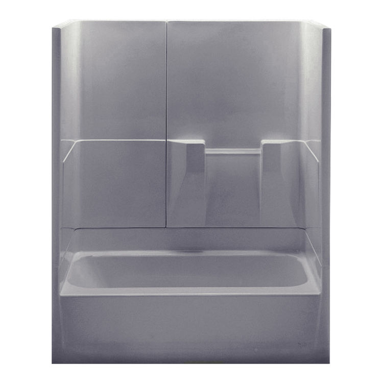 Aquatic Bath 2603TRIOR ST Sterling Silver 60 X30 X72 3 Piece