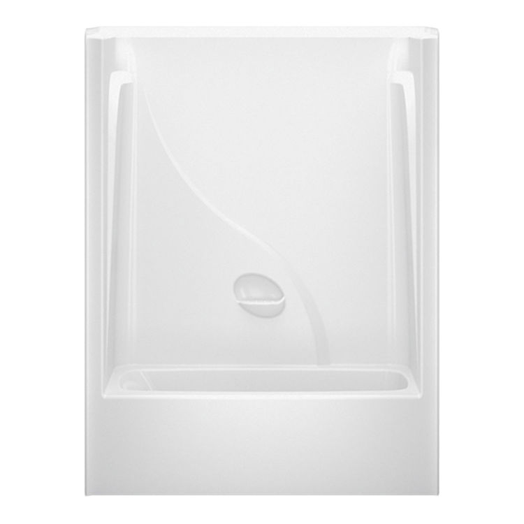 Aquatic Bath CAE260R WH White Right Drain 60 X34 X78 Tub Amp