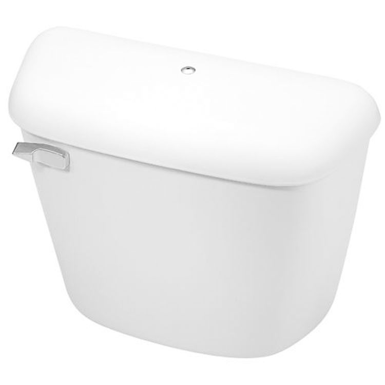 Mansfield Alto White Toilet Tank With Cover Lock Tank