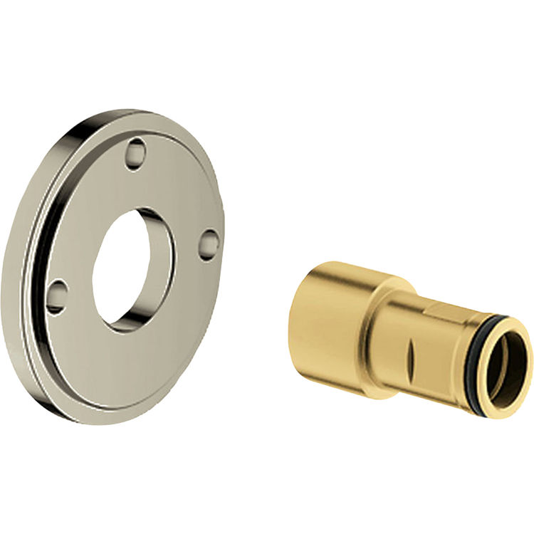 Grohe en retro fit spacer for shower system brushed