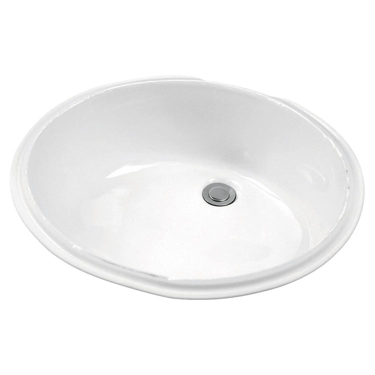 Gerber 12 780 Luxoval Undercounter Bathroom Sink Plumbersstock