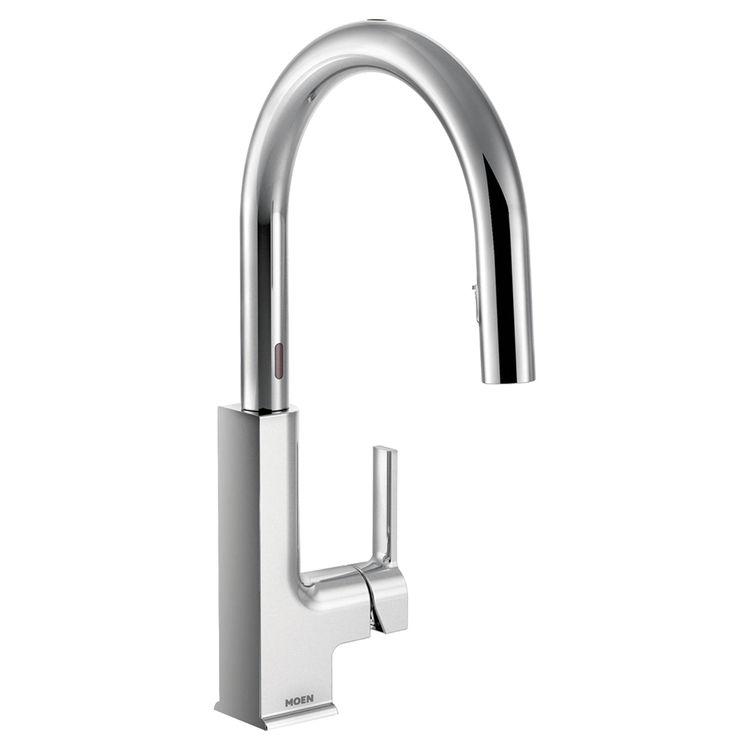 Moen Motionsense Kitchen Faucet: MOEN S72308EC STO ONE HANDLE PULLDOWN KITCHEN FAUCET