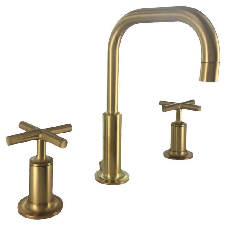 Kohler K 14406 3 Bgd Brushed Gold Purist Lavatory Faucet