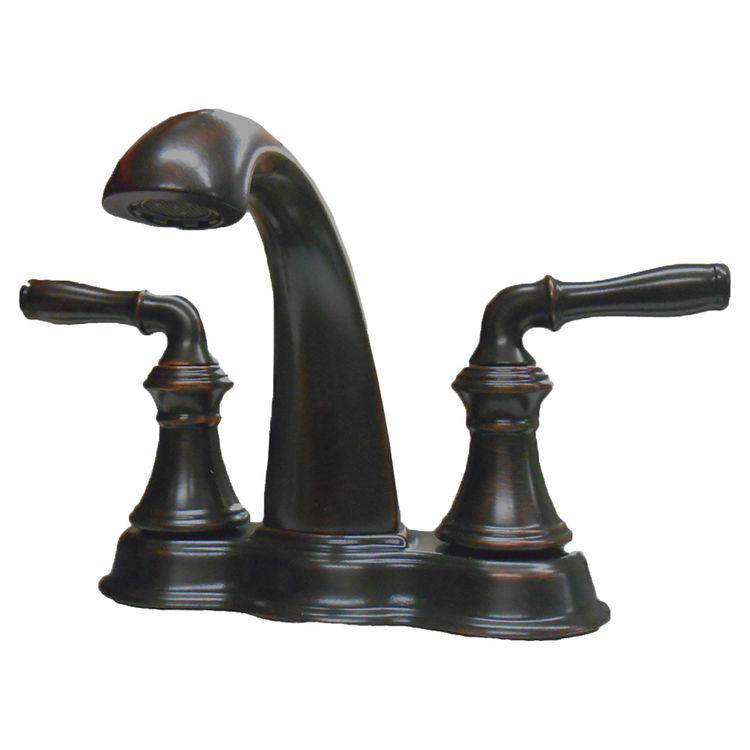 Kohler K 393 N4 2bz Oil Rubbed Bronze Devonshire Centerset Lavatory Faucet