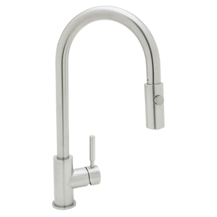 Rohl R7520SS Stainless Steel Architectural Pullout Spray Kitchen ...
