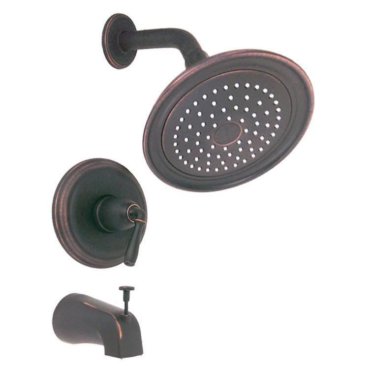 kohler k t395 4s brz devonshire bath shower trim lever oil rubbed bronze. Black Bedroom Furniture Sets. Home Design Ideas