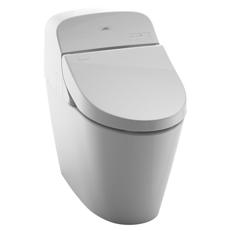 Toto Washlet toto washlet g400 with integrated toilet cotton white ms920cemfg 01