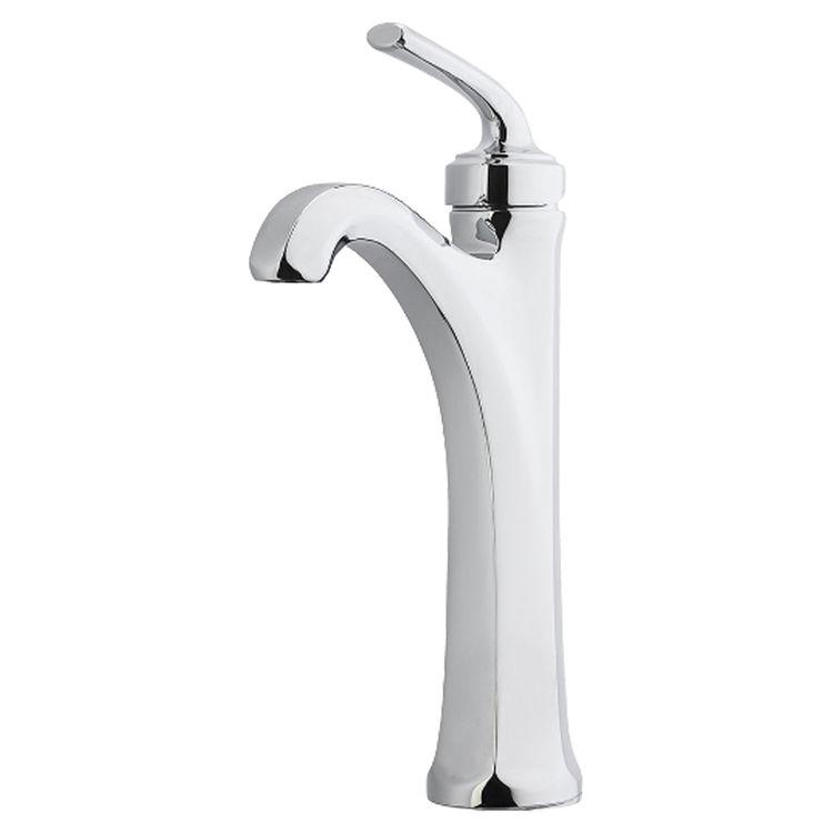 Pfister Lg40 De0c Polished Chrome Arterra Single Handle Vessel Faucet