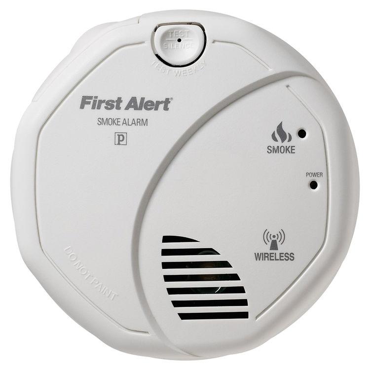 first alert sa521cn 3st hardwired onelink wireless smoke alarm 120 vac phot. Black Bedroom Furniture Sets. Home Design Ideas