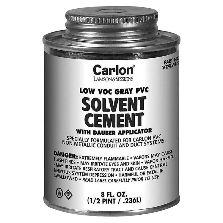 Pvc Solvent Cement : Thomas betts vc lv solvent cement with dauber applicator