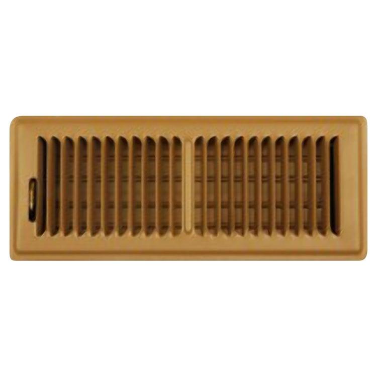 Shoemaker 350 2 x10 floor register brown plumbersstock for 10 x 14 floor register