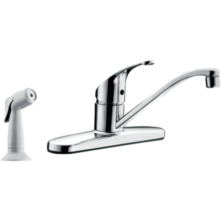 Moen CFG CA47513 Flagstone Single-Handle Kitchen Faucet with Spray ...