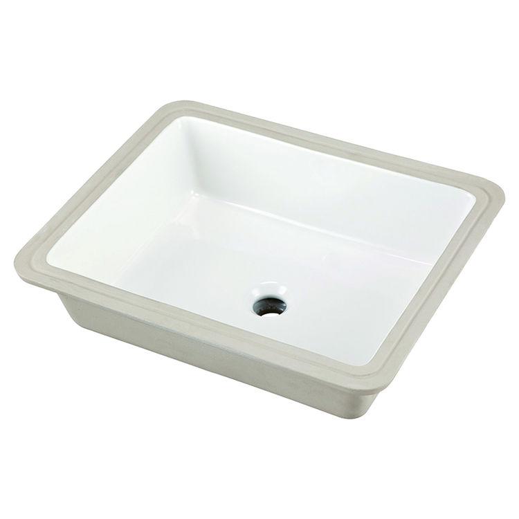 Gerber 12 791 Wicker Park Rectangular Undercounter Bathroom Sink