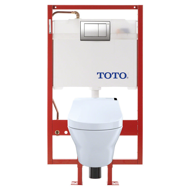 toto mh connect wall hung d shape toilet and c200 washlet. Black Bedroom Furniture Sets. Home Design Ideas