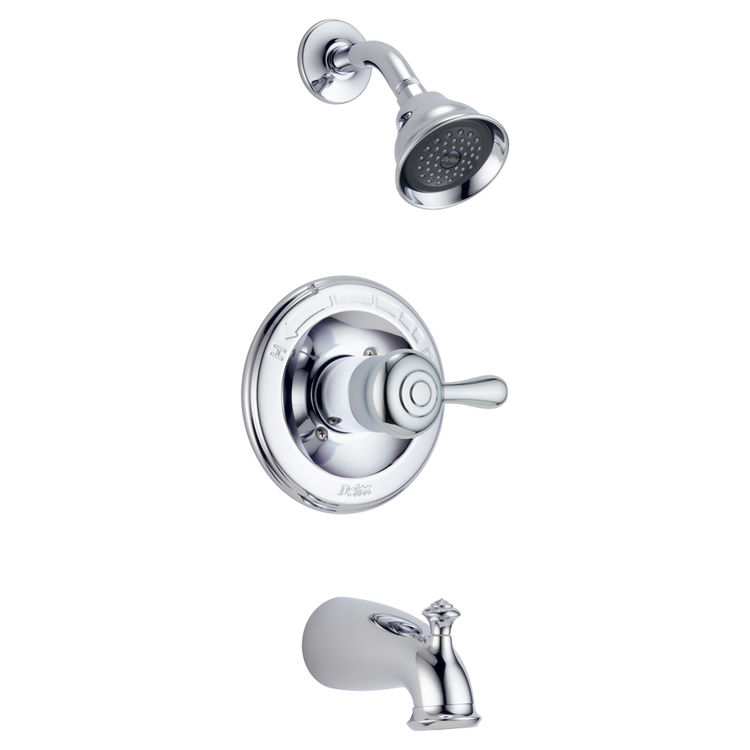 Delta 14478 Leland Monitor 14 Series Tub And Shower Trim Chrome