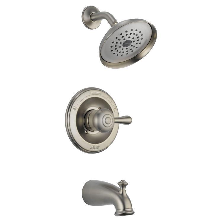 Delta 14478 ssshl leland monitor 14 series tub and shower for Delta leland bathroom faucet repair