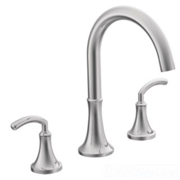 Moen Ts963 Two Handle High Arc Roman Tub Faucet Plumbersstock