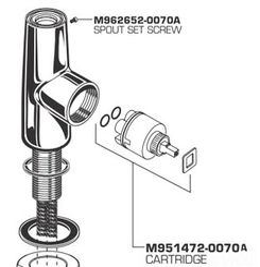 American Standard M962652-0070A