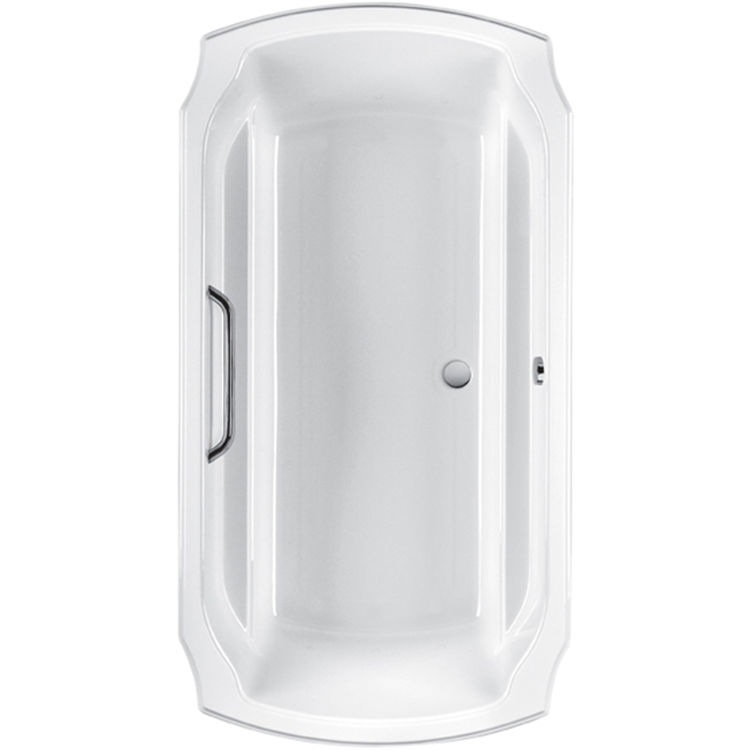 Toto Aby974n 01n Guinevere Cotton White Acrylic Soaker Tub