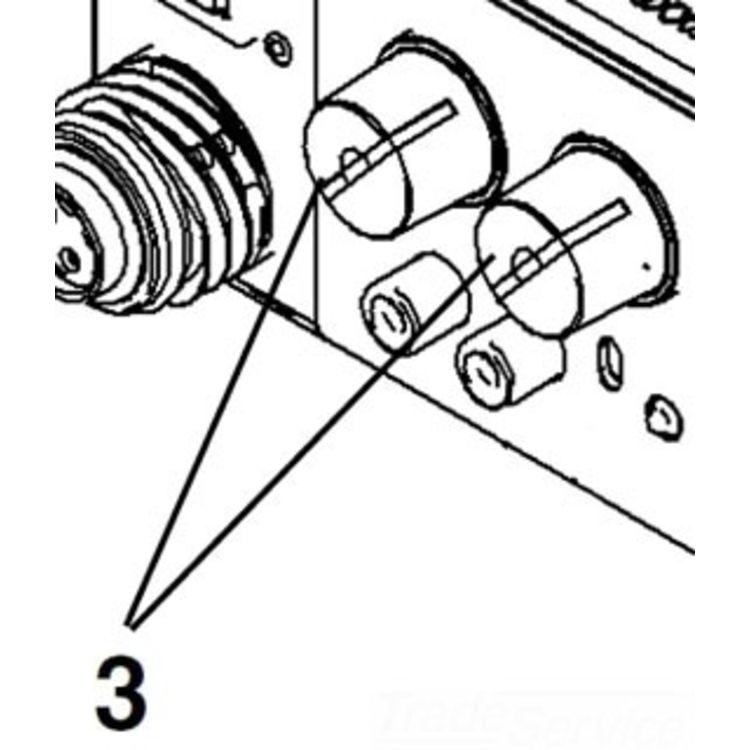 Ridgid 87152 Knob With Set Screw