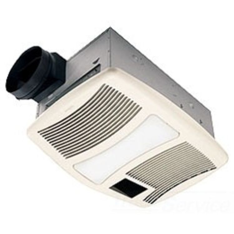 Nutone 70 Cfm Ceiling Exhaust Bath Fan W Night Light And: Broan-NuTone QTXN110HFLT 110 CFM Ventilation Fan W/ Heater