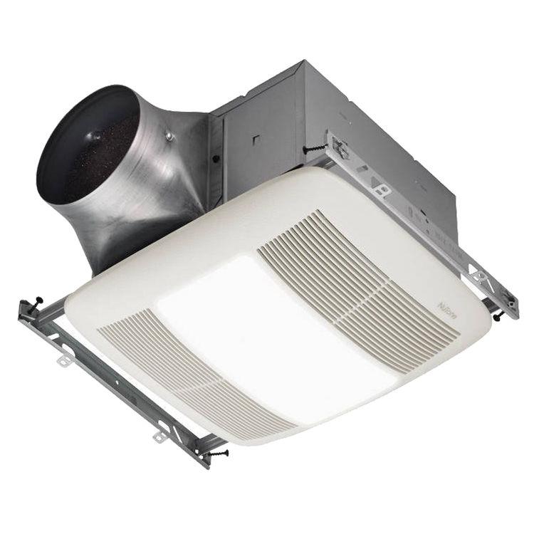 Bathroom Exhaust Fan 50 Cfm: Broan-NuTone XN50L 50 CFM Ultra Series Fan/Light/Nightlight