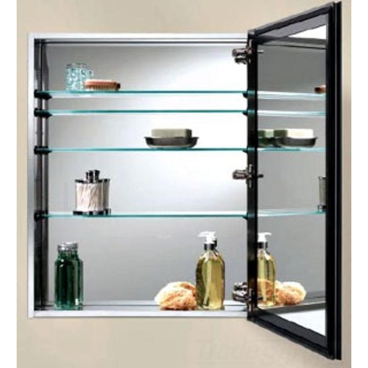 Broan nutone 72ss344d 15 x 35 deluxe frameless medical for Frameless cabinet manufacturers