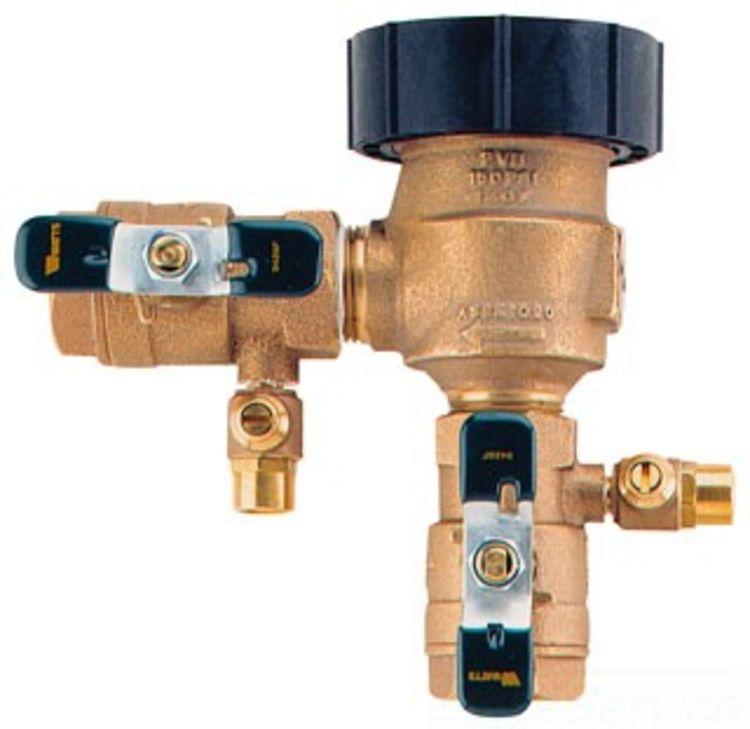 Watts m qt quot pressure vacuum breaker plumbersstock